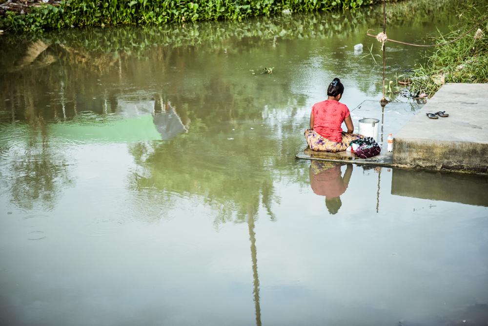 タウンピョンに至る道、風。ミャンマー旅行紀06