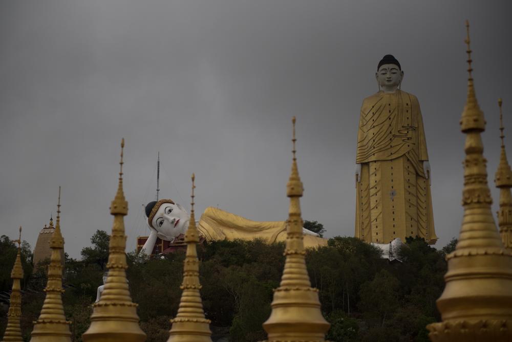 仏の海モンユワ。ミャンマー旅行紀05