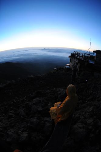 八ヶ岳、一夜明けて