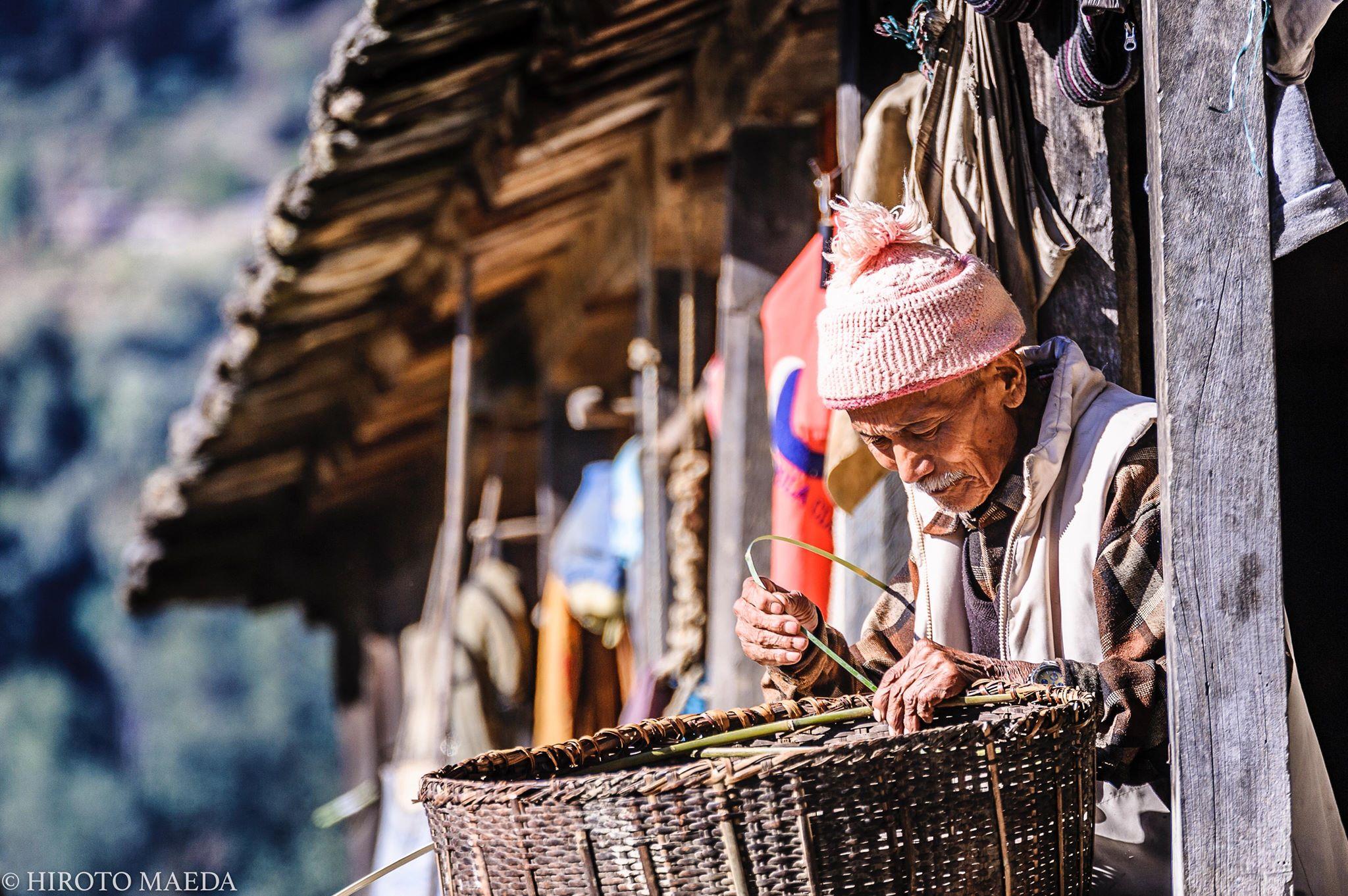ネパールから