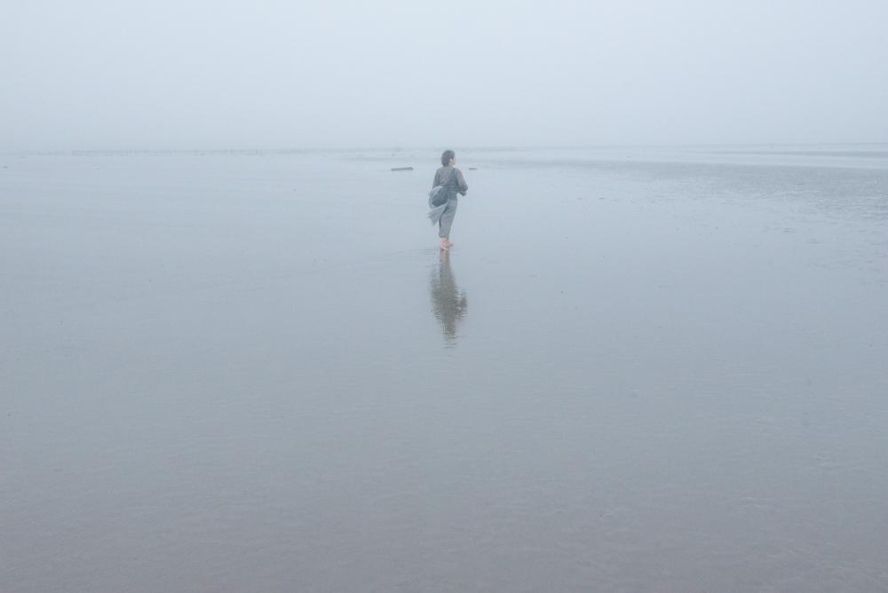 ウユニ塩湖に映らなかった男