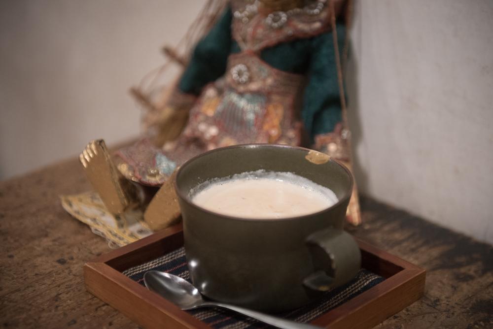 秋のミルクティー