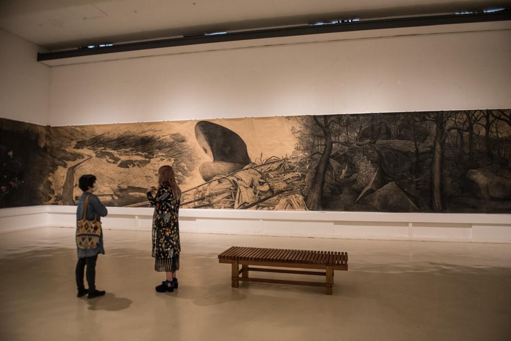 原爆の図丸木美術館を訪問